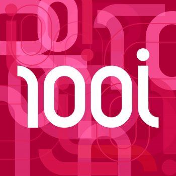 Logomarca rosa escuro